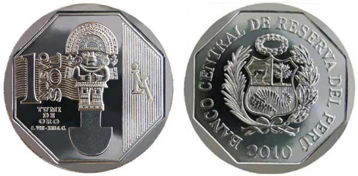 wealth and pride peruvian coin series tumi de oro