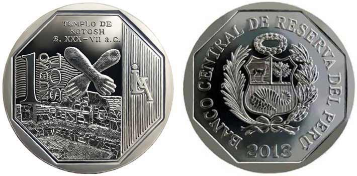 wealth and pride peruvian coin series temple of kotosh