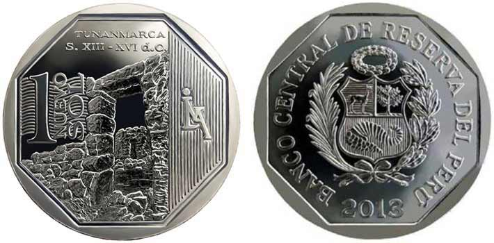 wealth and pride peruvian coin series tunanmarca