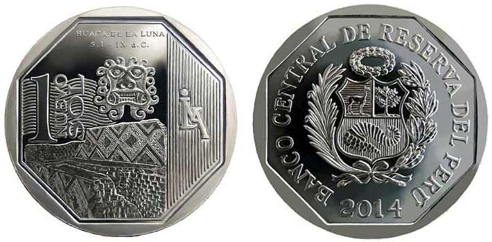 wealth and pride peruvian coin series temple of the moon