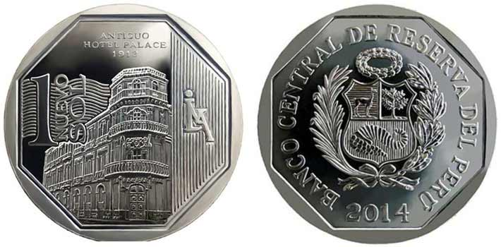 wealth and pride peruvian coin series old hotel palace