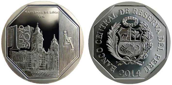 wealth and pride peruvian coin series cathedral of lima