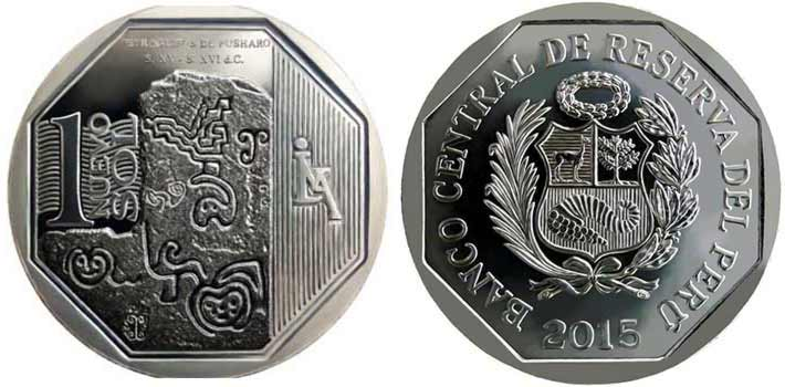 wealth and pride peruvian coin series petrogluphs of pusharo