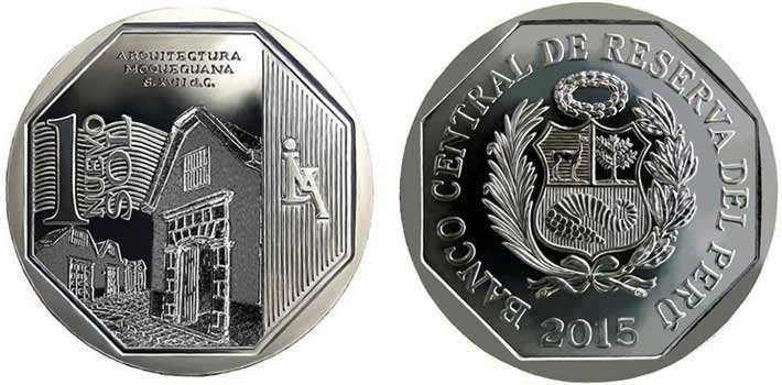wealth and pride peruvian coin series moquegua architecture