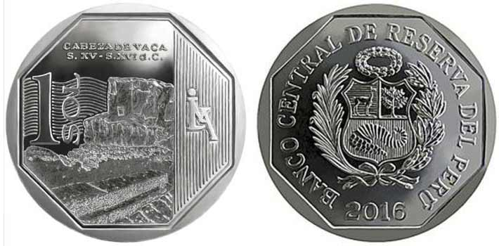 wealth and pride peruvian coin series cabeza de vaca
