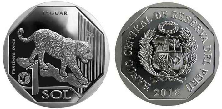 threatened wildlife peruvian coin series jaguar