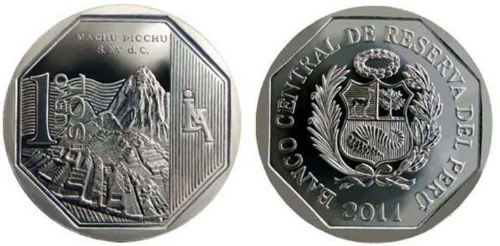 wealth and pride peruvian coin series machu picchu