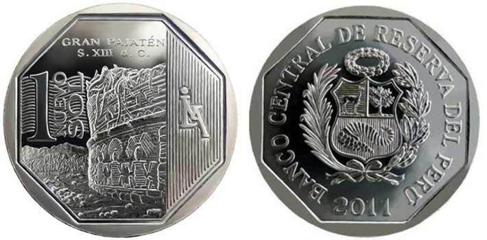 wealth and pride peruvian coin series gran pajaten