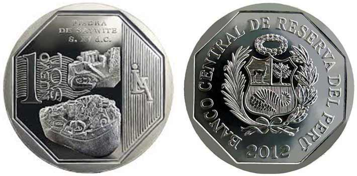 wealth and pride peruvian coin series stone of sayhuite