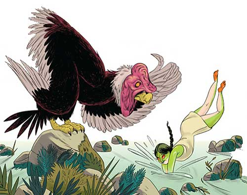 the jeweled frog and the condor