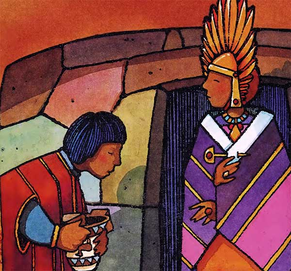Huatya Curi and the Five Condors - An illustrated myth from the Huarochiri Culture of Peru
