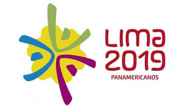 The Lima 2019 logo is inspired by the indigenous yellow Amancaes flower; the three flower petals in green, blue and purple represent three athletes and the three Americas coming together in the yellow center which represent the Peruvian capital Lima.
