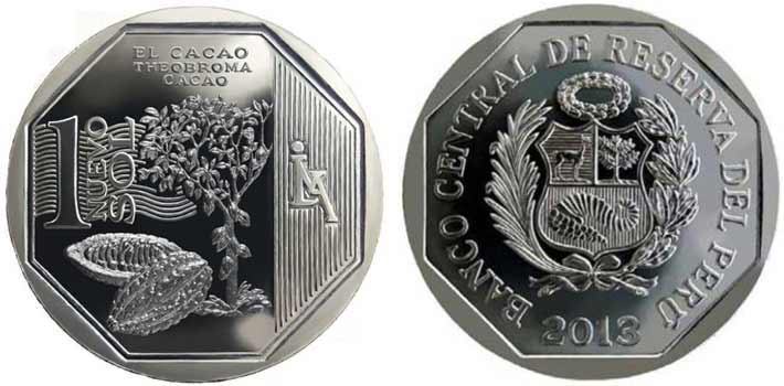 natural resources peruvian coin series cacao