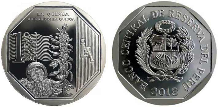 natural resources peruvian coin series quinua