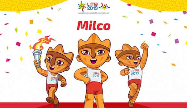 "The Lima 2019 mascot ""Milco"" is inspired by the cuchimilco, small figurines made by the Chancay culture (1100 – 1450 AD). Milco is cheerful, optimistic and above all hospitable while at the same time representing Lima's rich historical and cultural past."