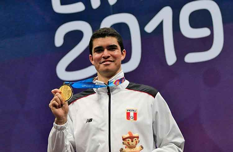 Lima 2019 Peruvian Diego Elias wins gold in squash