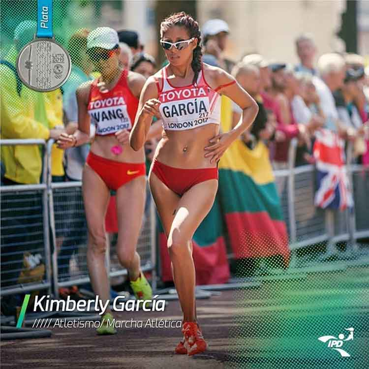 Lima 2019 Peruvian Kimberly Garcia wins silver in the 20km walk