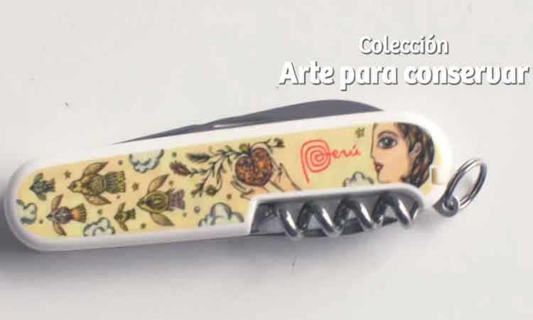 The pocketknife designed by Peruvian artist Fito Espinosa is part of the new Victorinox collection