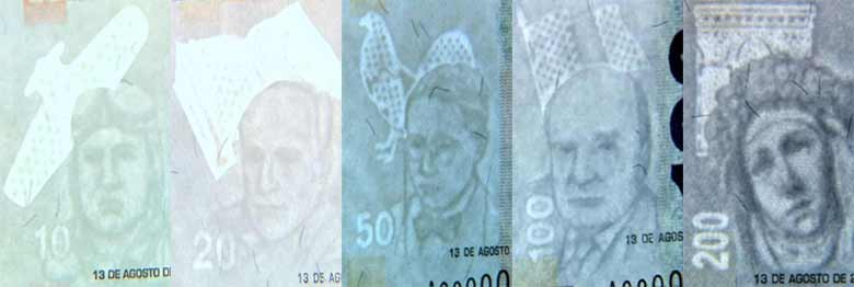 security features of peruvian banknote watermark