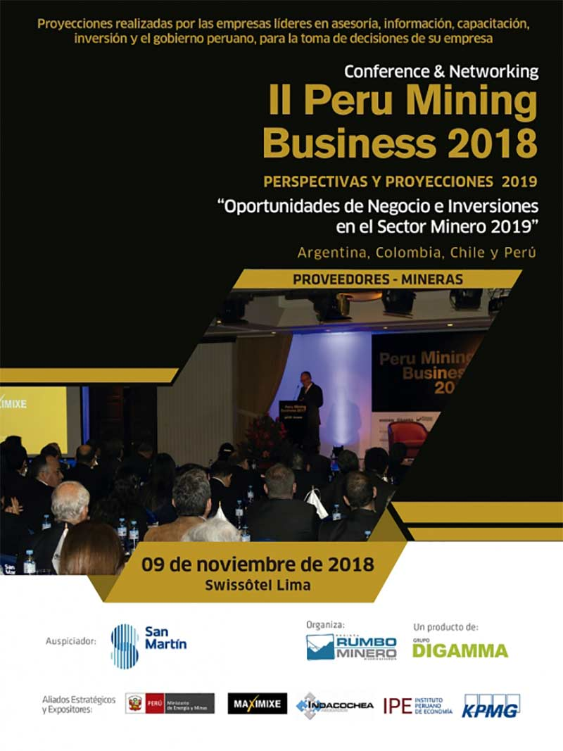 Peru Mining Business Conference 2018 - Flyer