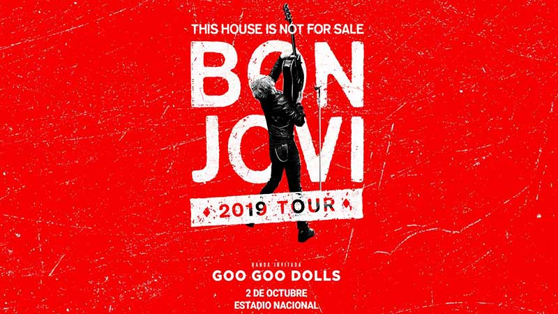 Bon Jovi In Lima 2019 This House Is Not For Sale Tour
