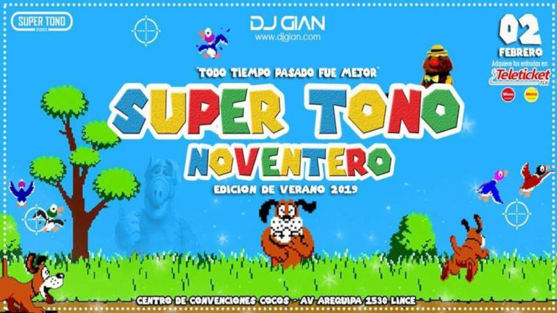 super-noventero-summer-edition-2019-90s-party-lima