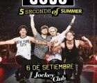 Australian boy band 5 Seconds of Summer sarts their South America Tour in Lima, Peru