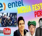 The Entel Media Fest, the largest YouTuber Festival in Latin America, is held in Lima in October 2017