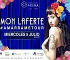 Chilean singer Mon Laferte comes to Lima as part of her Amarrame Tour 2017