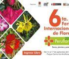 Peruflora 2017, the largest flower fair in Lima, is held in Miraflores in September