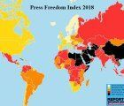 World Press Freedom Index 2018; source: Reporters without Borders