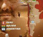 The Dakar Rally 2018 starts in Lima, Peru, crosses southern Peru and Bolivia and ends in Codoba, Argentina