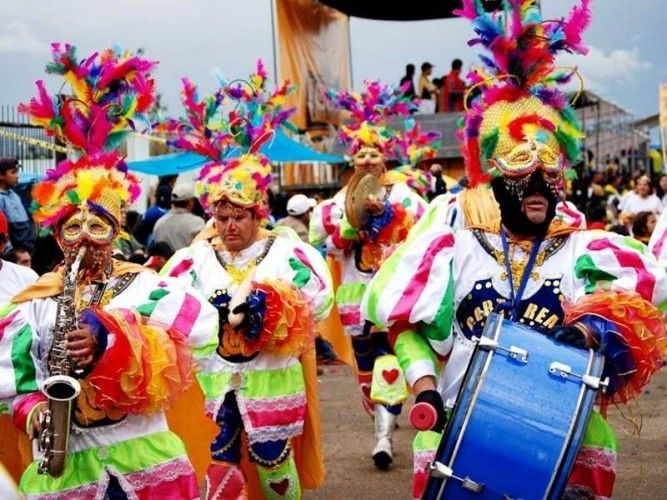 The biggest and most enthusiastic carnival celebrations in Peru are in Cajamarca