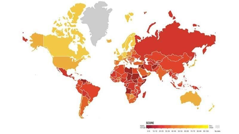 Corruption Perception Index 2018 Transparency International