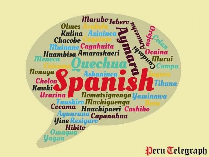 Next to the three official languages Spanish, Quechua and Aymara, over 40 indigenous languages are still spoken in Peru; most of them might dissappear rather sooner than later.