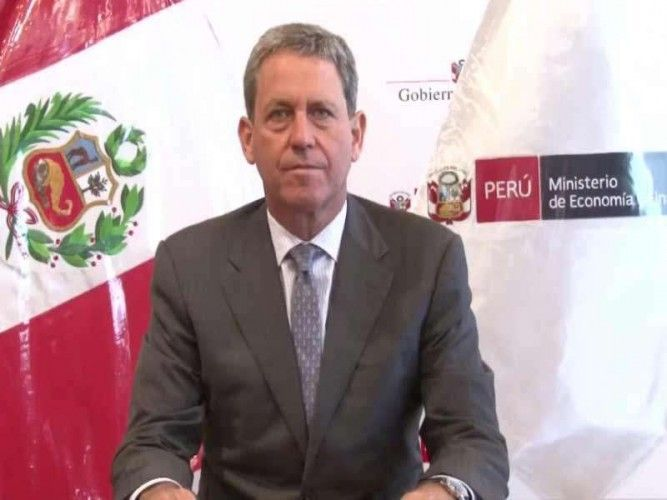 Alfredo Thorne, Peruvian Minister of Economy and Finance, resigned after losing a vote of confidence; photo: rpp