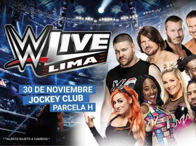WWE Live, the world wrestling entertainment show, returns to Lima in November 2017