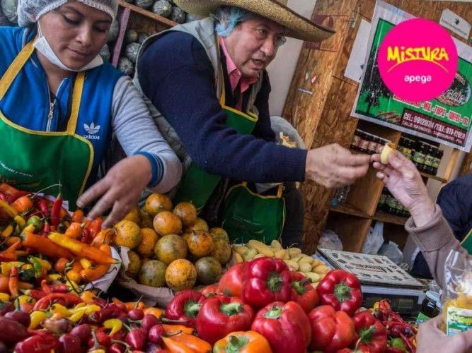 Mistura's Gran Mercado, the Great Market, is this year once again the heart of South America's largest food festival