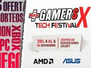 MasGamers Tech Festival X, Peru's largest gamers convention, is held next weekend in Lima