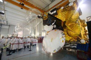 The first Peruvian satellite PerúSAT-1 - Picture: Andina