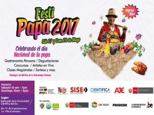 Festi Papa 2017 in Lima celebrates Peru's huge variety of native potatoes.