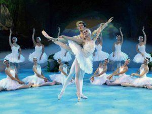 The Russian Ballet Company performs in Asia, Peru
