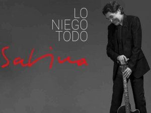 Joaquin Sabina presents his latest album Lo Niego Todo to his fans in Lima
