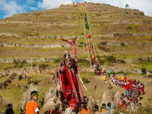 Sondor Raymi celebration in Peru; photo: arqueologiadelperu