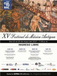 15th Ancient Music Festival – XV Festival de Musica Antiqua