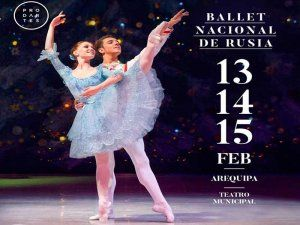 The Russian State Ballet gives 3 performances of their Gala de Solistas in Arequipa