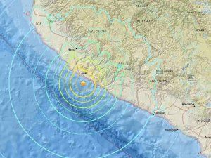 Strong earthquake hits southern Peru