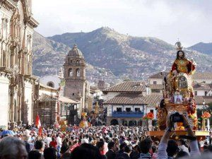 Corpus Christi celebration in Cusco, Peru; photo: andina