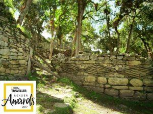 Kuelap, built by the Chachapoyas culture and often named the lost or walled city, received the National Geographic Traveler Reader Award Best Overseas Attraction 2017