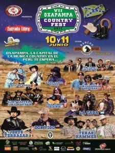 the best live country music in Peru at the Oxapampa Country Fest 2017